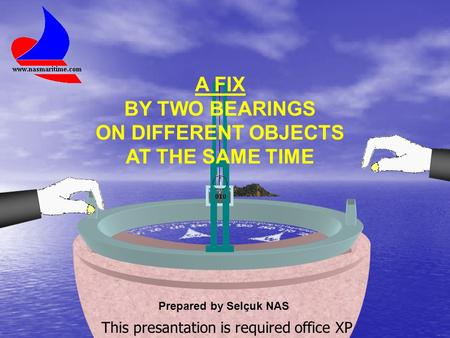 A FIX BY TWO BEARINGS ON DIFFERENT OBJECTS AT THE SAME TIME