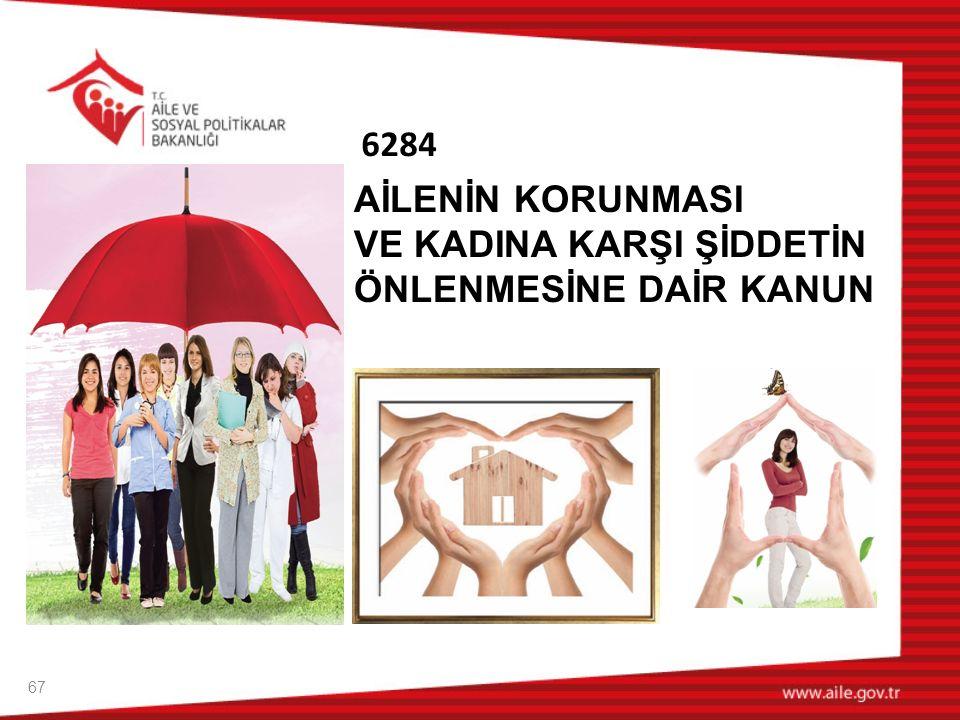 Ailenin Korunması ve Kadına Karşı Şiddetin Önlenmesine Dair Kanun İstanbul Sözleşmesinde yer verilen tedbirler göz önünde bulundurulmuştur.