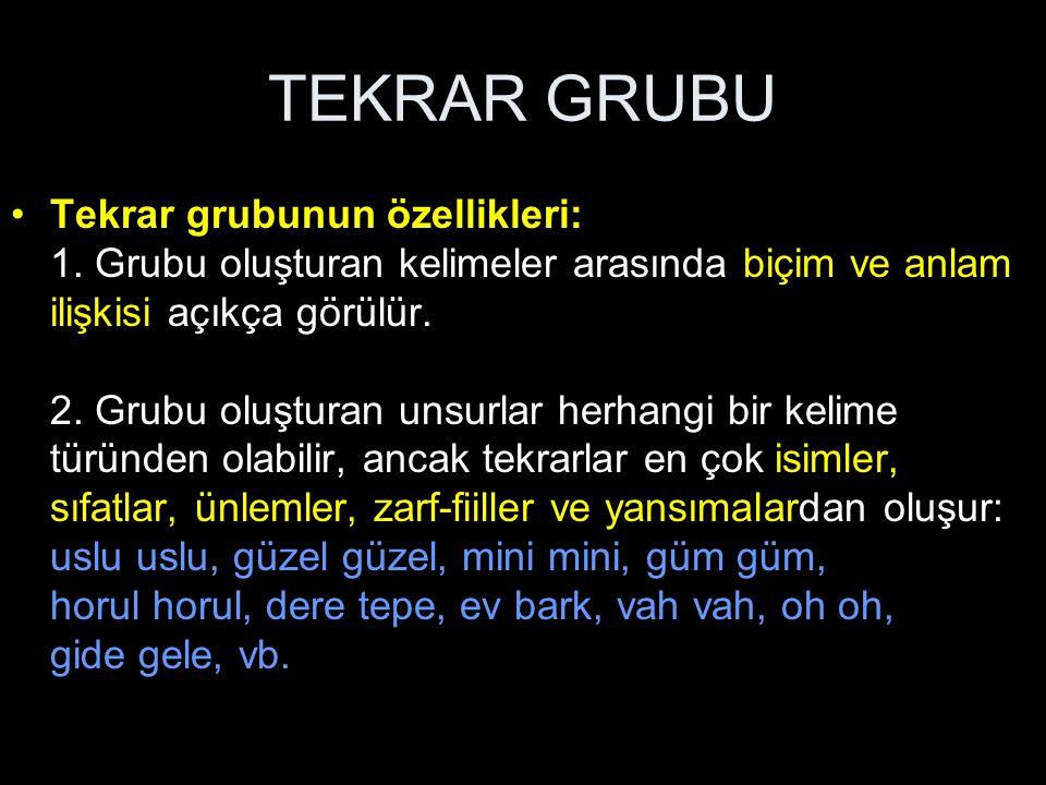 TEKRAR GRUBU 3.