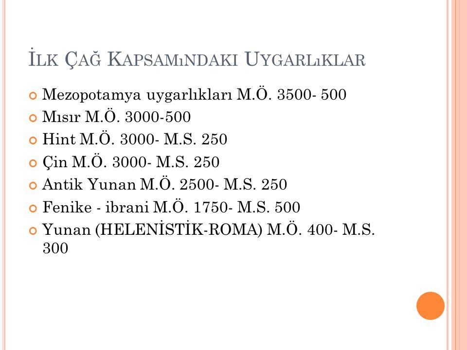 U YGARLıK K AVRAMı Bu kavram ilk olarak 18.yy. kullanılmıştır.