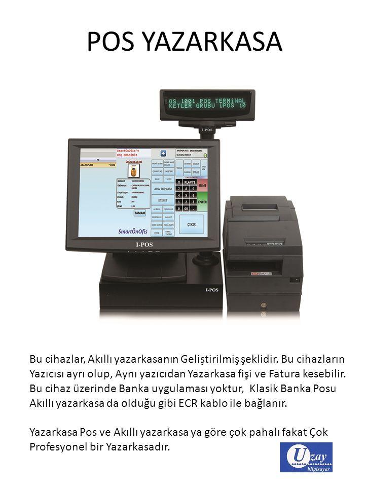 YAZARKASA POS ile AKILLI YAZARKASA FARKLARI Bu uygulama ilk olarak, Adreste ödeme alan işyerleri için, Mobil Yazarkasa Pos cihazları olarak başladığı için, Herkes Akıllı Yazarkasa ya da Yeni Nesil Ödeme Kaydedici cihazları Mobil Yazarkasa Pos olarak bilmektedir.