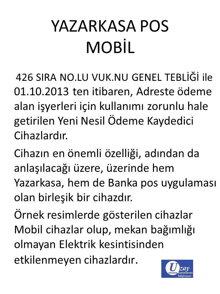 YAZARKASA POS MOBİL