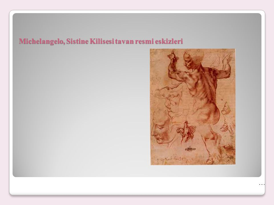 15.yüzyılda ve 16. yüzyılın ilk yarısında İtalya'da olağanüstü bir sanatsal gelişim görülüyor.