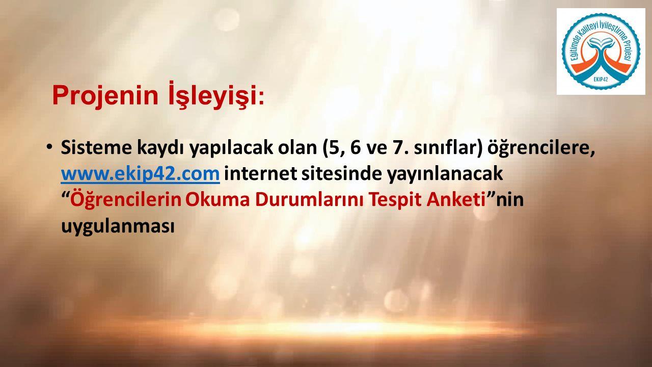 Ortaokullarda, Türkçe öğretmenlerinin 5, 6 ve 7.