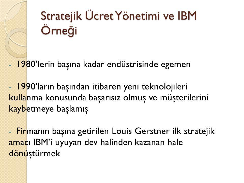 - Bu do ğ rultuda daha çok küçülme ve re -organizasyon yapılmış, IBM'e paylaşma kültürü ve çalışanların örnek alaca ğ ı davranış modelleri getirilmiş.