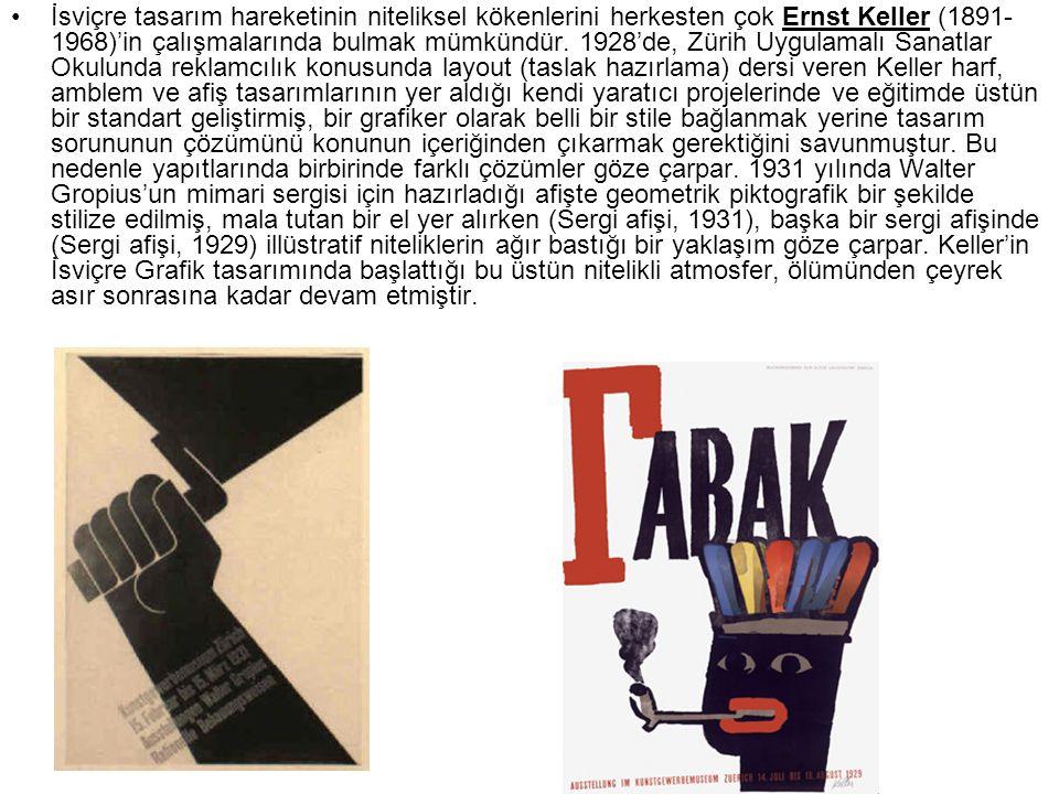 Uluslararası Tipografik Stilin kökenleri De Stijl, Bauhaus ve 20'li, 30'lu yılların Yeni Tipografi hareketlerine dayanır.