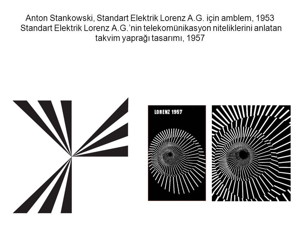 Stankowski, bilimsel süreçler dışındaki soyut kavramları anlatmak için de geometrik biçimlere başvurmuştur.