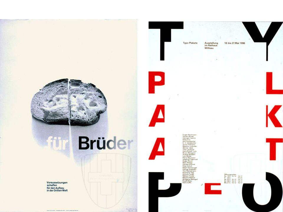 1959 yılında çıkmaya başlayan Neue Grafik (Yeni Grafik) adlı dergiyle birlikte İsviçre tasarımı da uluslar arası bir harekete dönüşmeye başlamıştır.