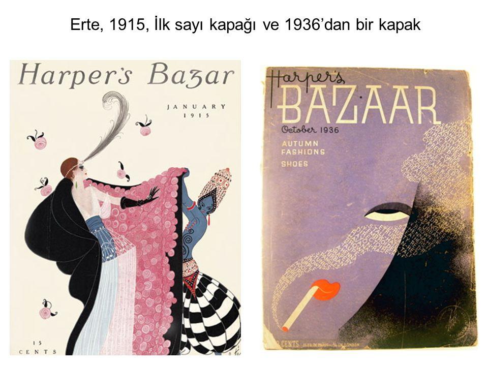 Amerika'nın başlıca dergilerinden birinin grafik kaderini tayin eden, modern anlayışta yetişmiş ilk sanat yönetmenlerinden biri Dr.