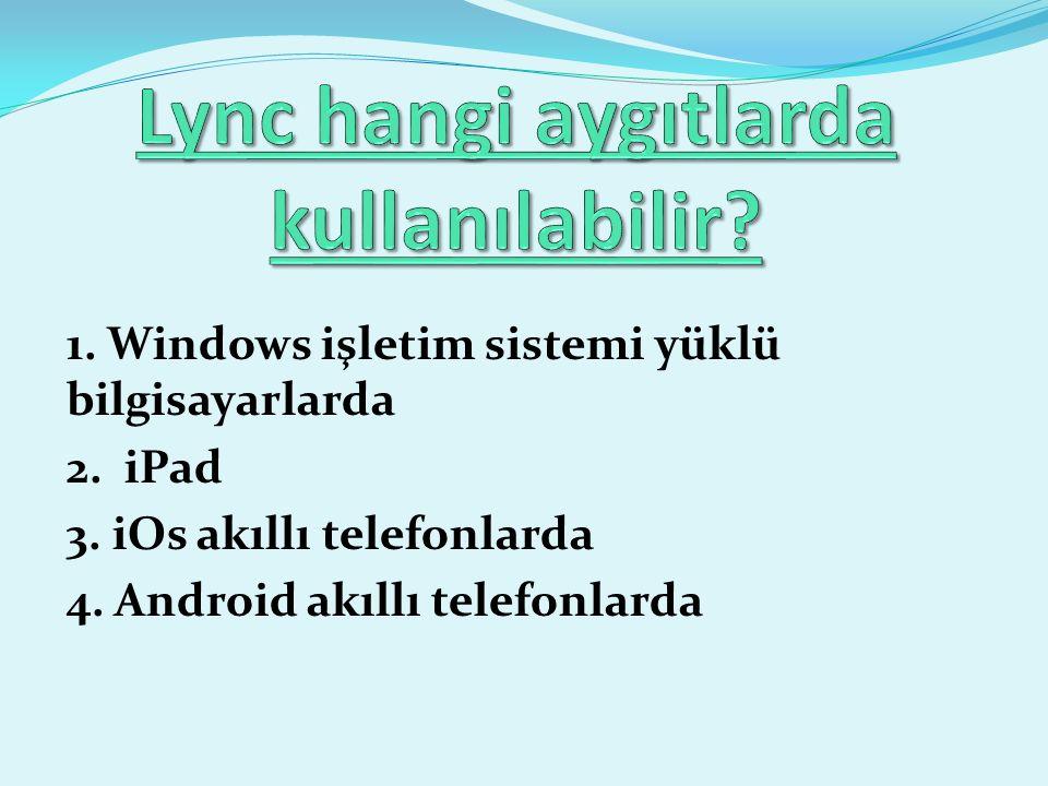 Microsoft Lync, aynı anda hem mevcut IP tabanlı telefon santralinizle ve hem de Microsoft Office programlarınızla bütünleşik çalışabilen bir birleşik iletişim platformudur.