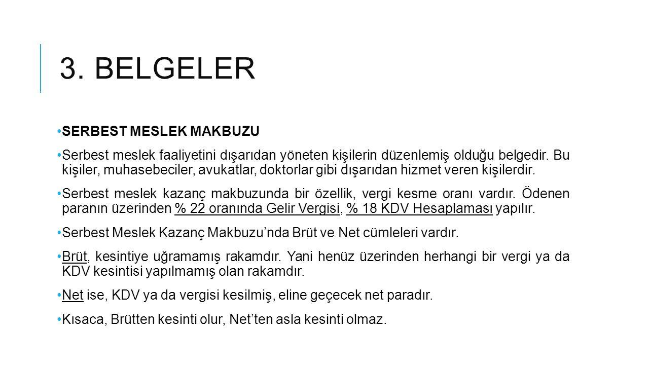 3. belgeler SERBEST MESLEK MAKBUZU