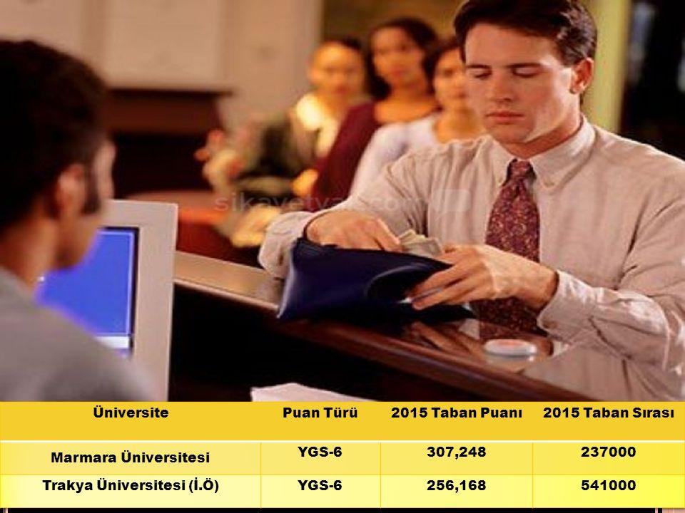 Trakya Üniversitesi (İ.Ö)