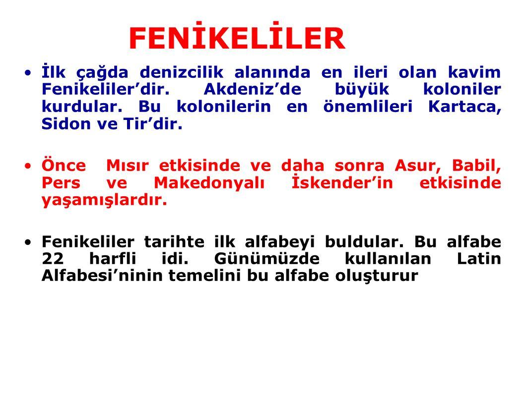 FENİKELİLER