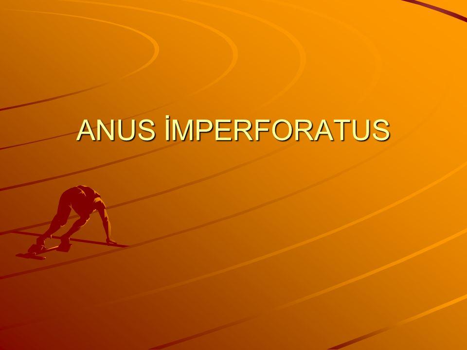 ANUS İMPERFORATUS