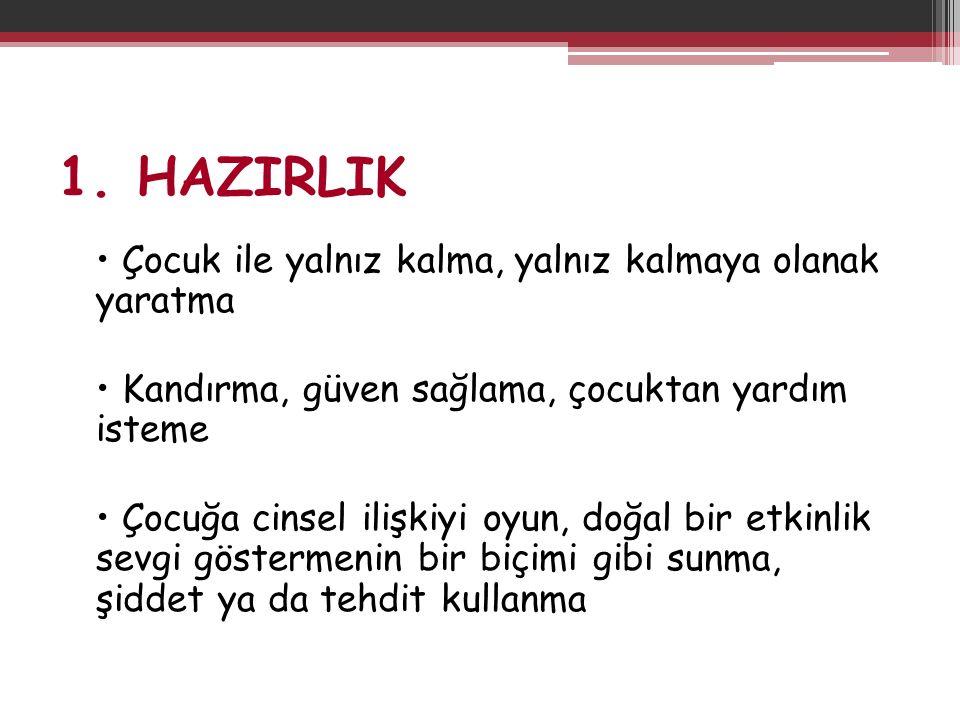 1. HAZIRLIK