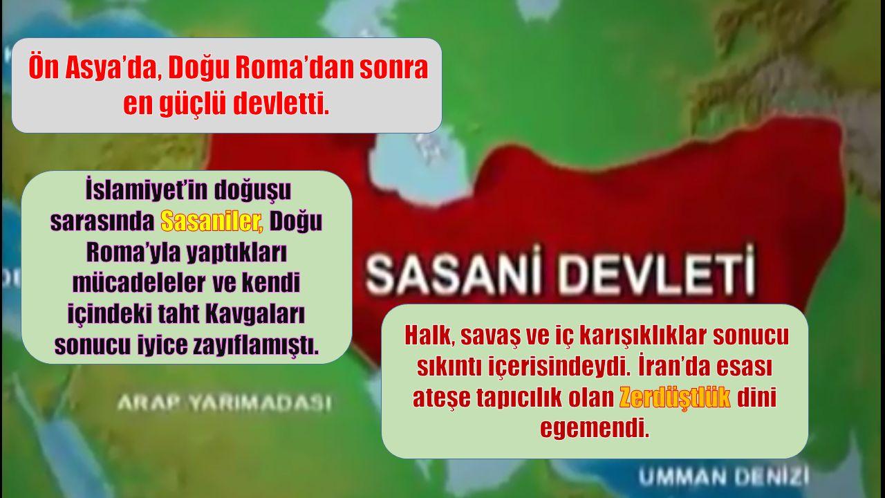 Ön Asya'da, Doğu Roma'dan sonra en güçlü devletti.
