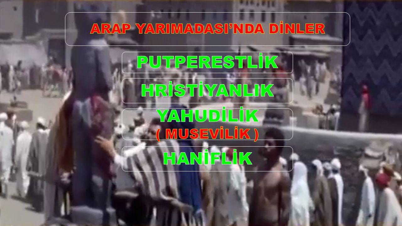 ARAP YARIMADASI'NDA DİNLER