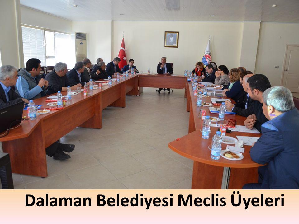 Dalaman Belediyesi Meclis Üyeleri