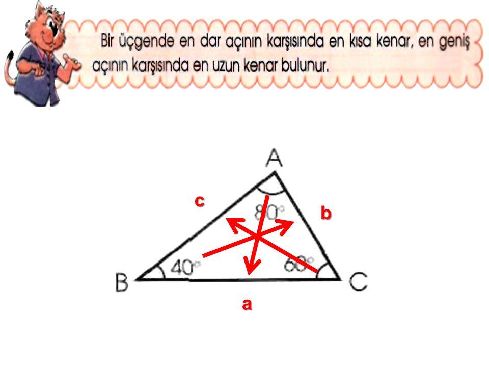 c b a