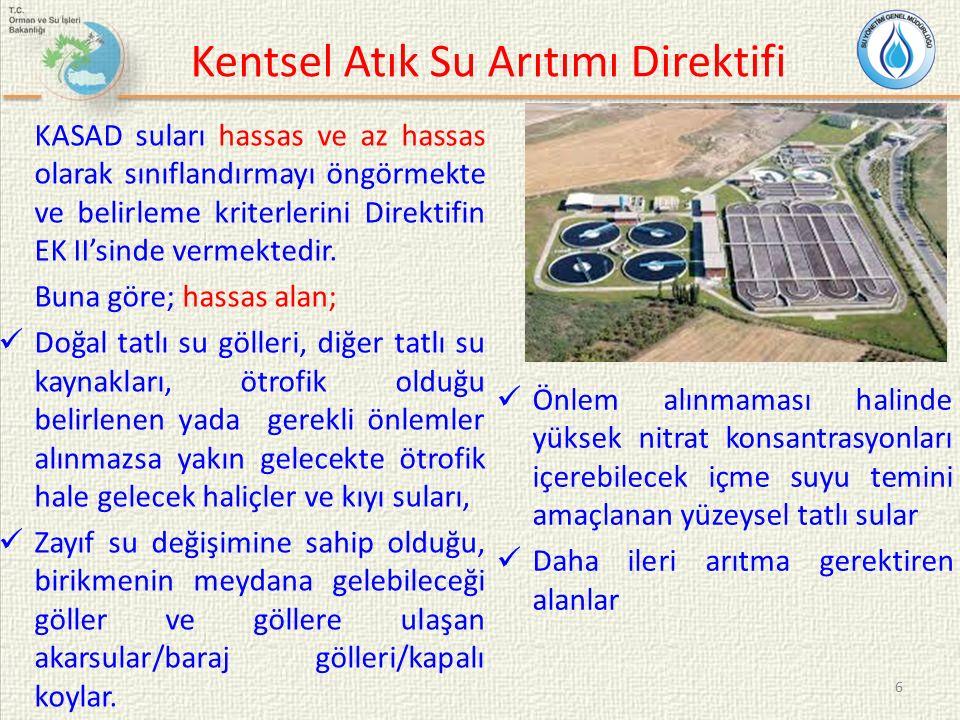 Kentsel Atık Su Arıtımı Direktifi