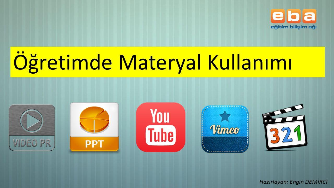 Öğretimde Materyal Kullanımı