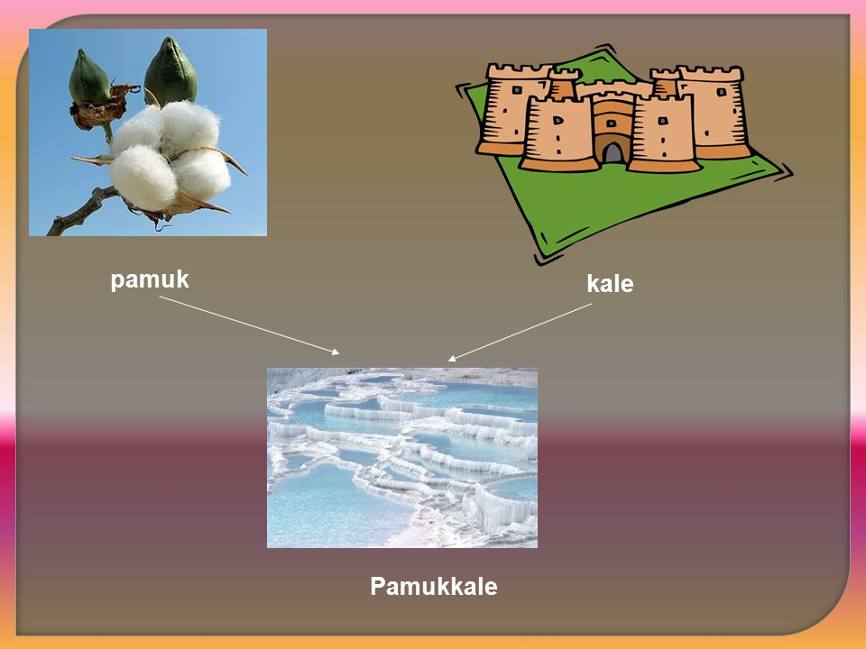 pamuk kale Pamukkale