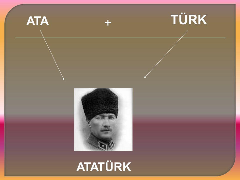 TÜRK ATA + ATATÜRK