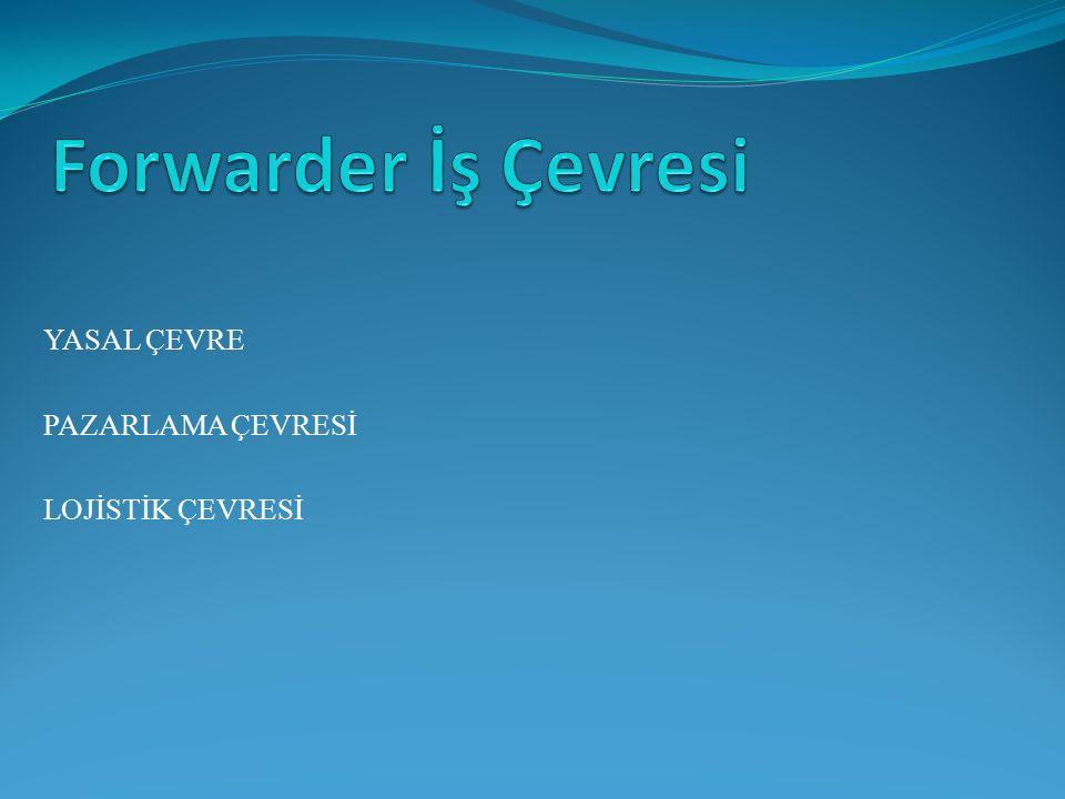 Forwarder İş Çevresi YASAL ÇEVRE PAZARLAMA ÇEVRESİ LOJİSTİK ÇEVRESİ