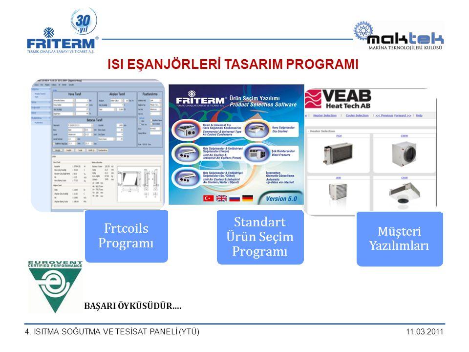 Standart Ürün Seçim Programı