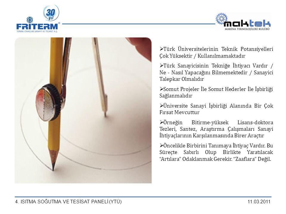 Türk Üniversitelerinin Teknik Potansiyelleri Çok Yüksektir / Kullanılmamaktadır