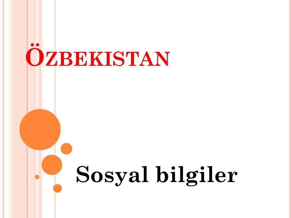 Özbekistan Sosyal bilgiler