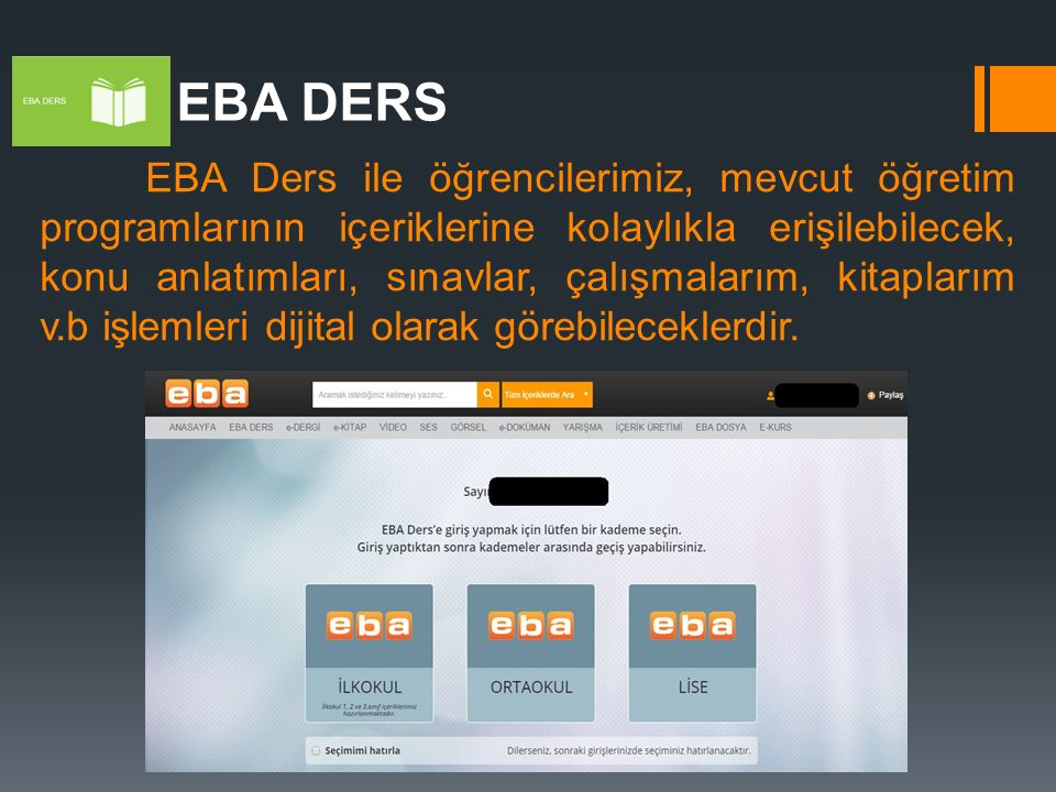 EBA DERS