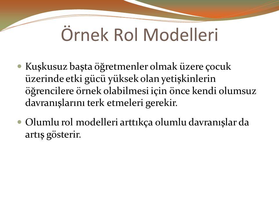 Örnek Rol Modelleri