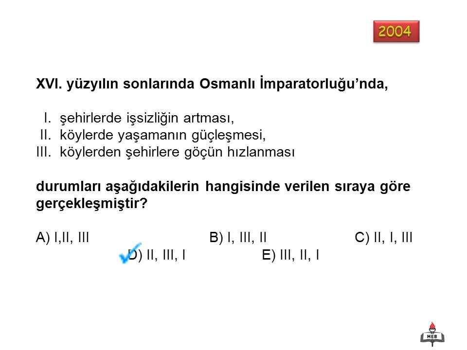 XVI. yüzyılın sonlarında Osmanlı İmparatorluğu'nda,