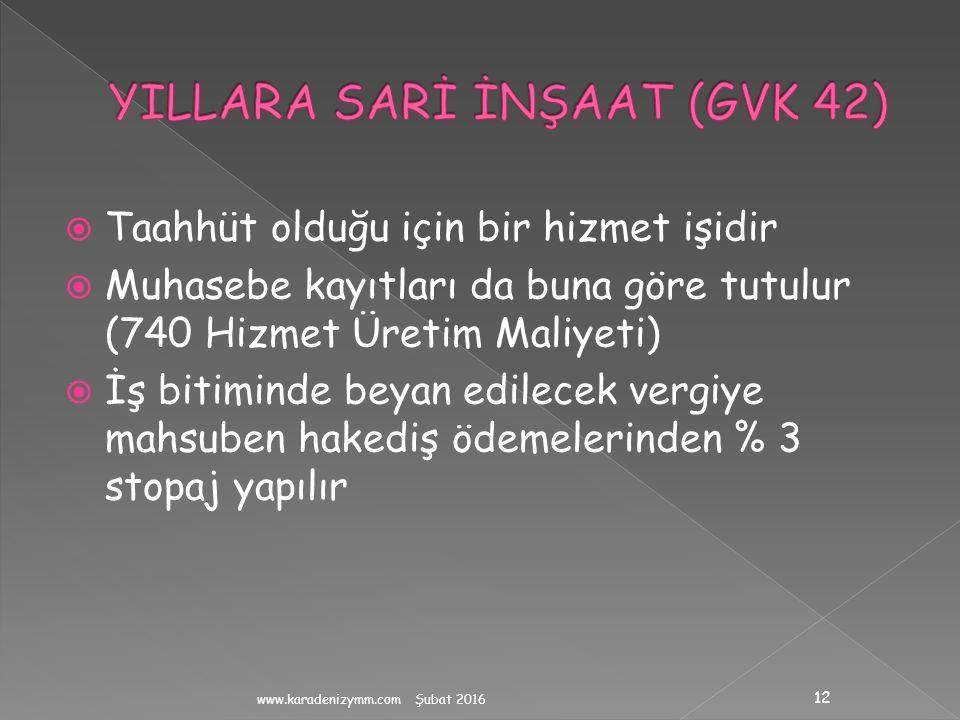 YILLARA SARİ İNŞAAT (GVK 42)