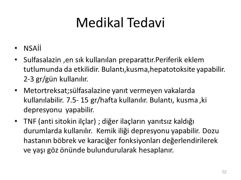 Medikal Tedavi NSAİİ.