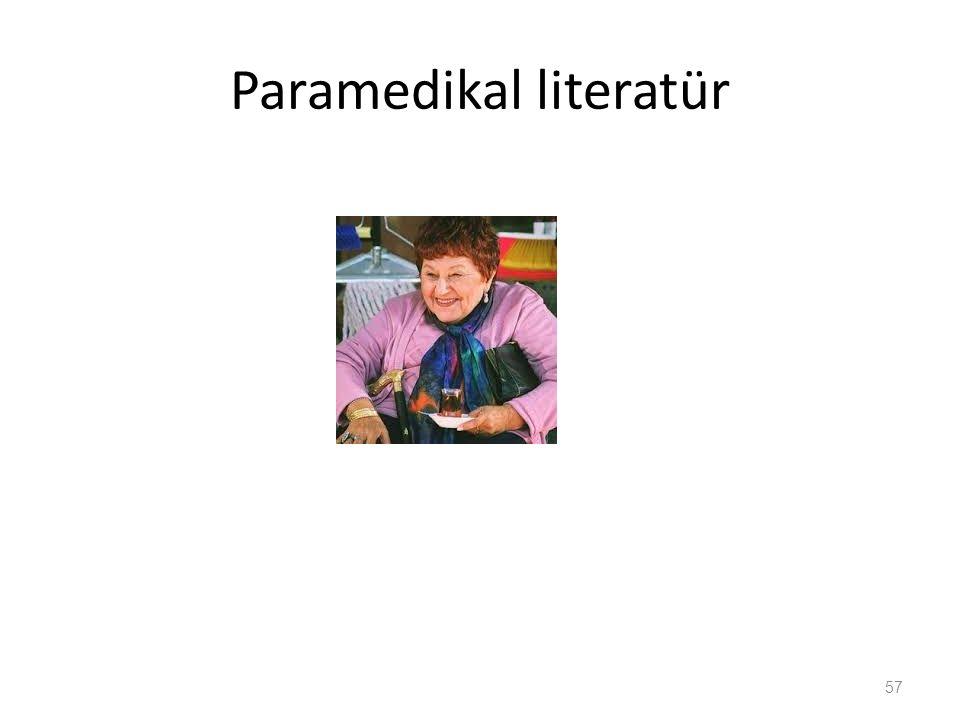 Paramedikal literatür