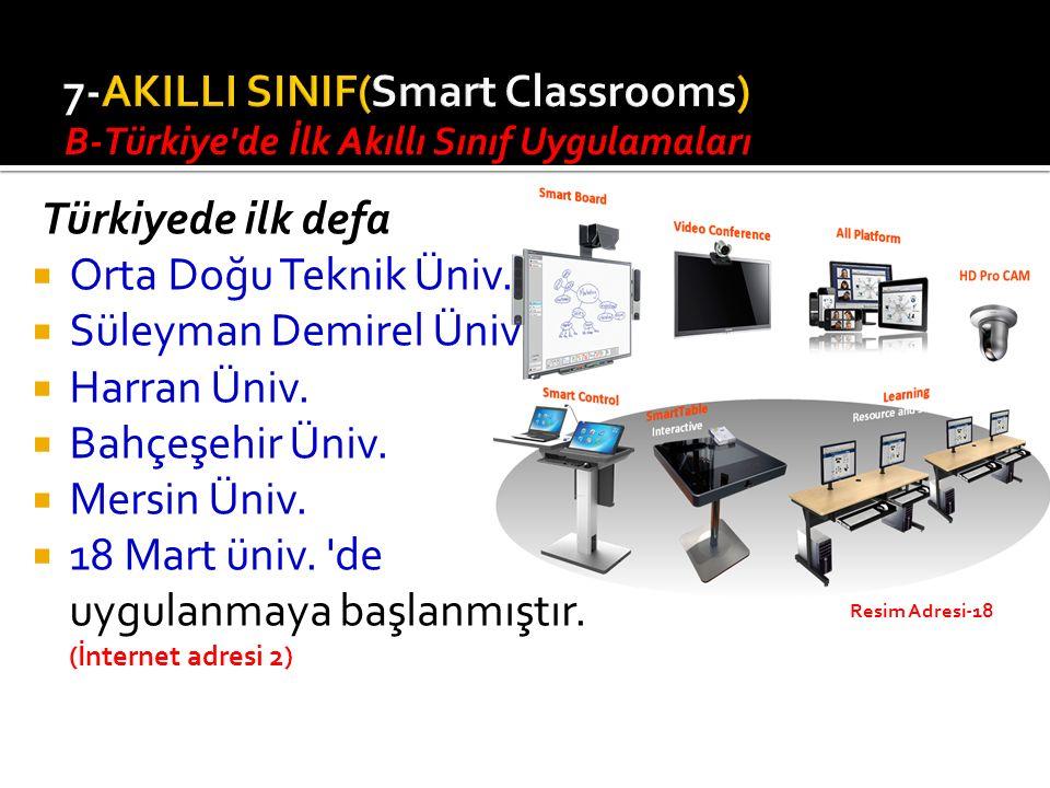 7-AKILLI SINIF(Smart Classrooms)
