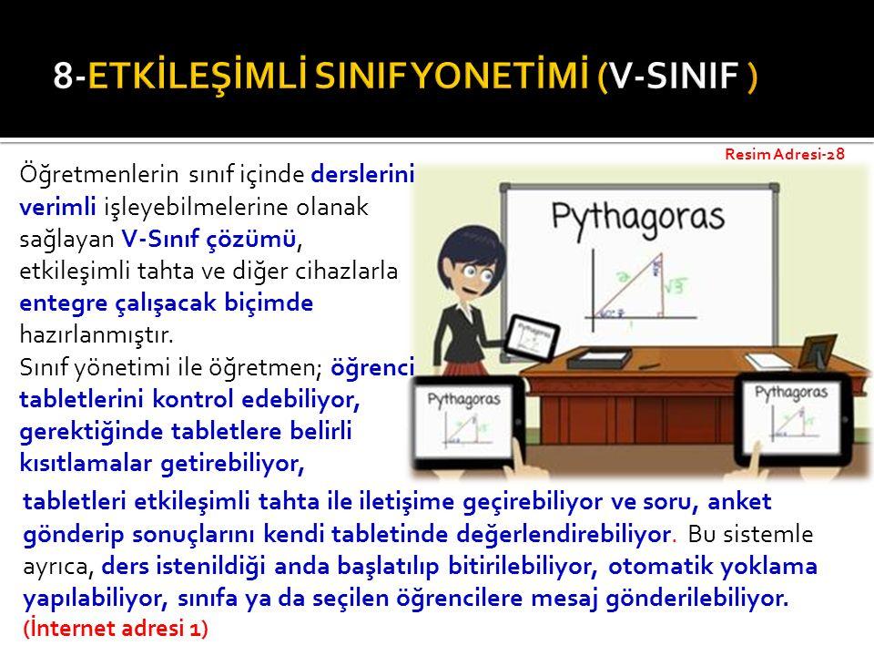 8-ETKİLEŞİMLİ SINIF YONETİMİ (V-SINIF )