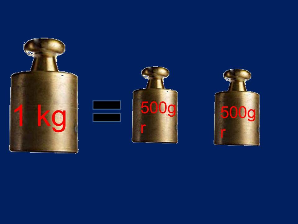 1 kg 500gr