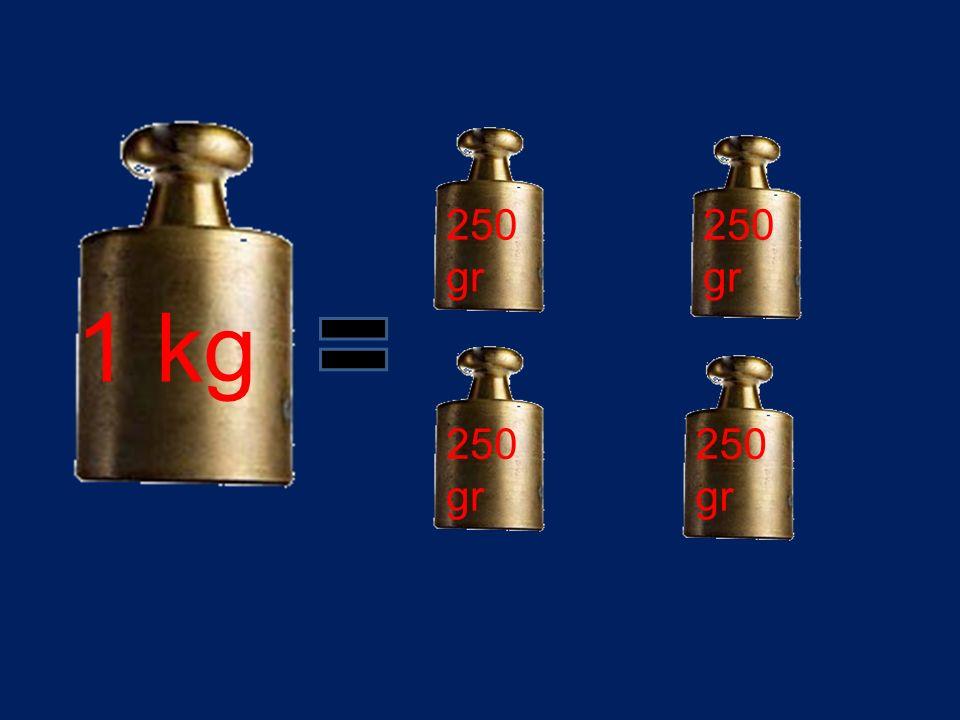 1 kg 250gr