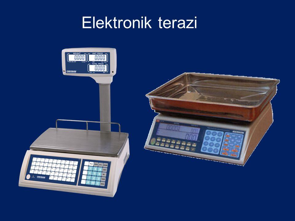 Elektronik terazi