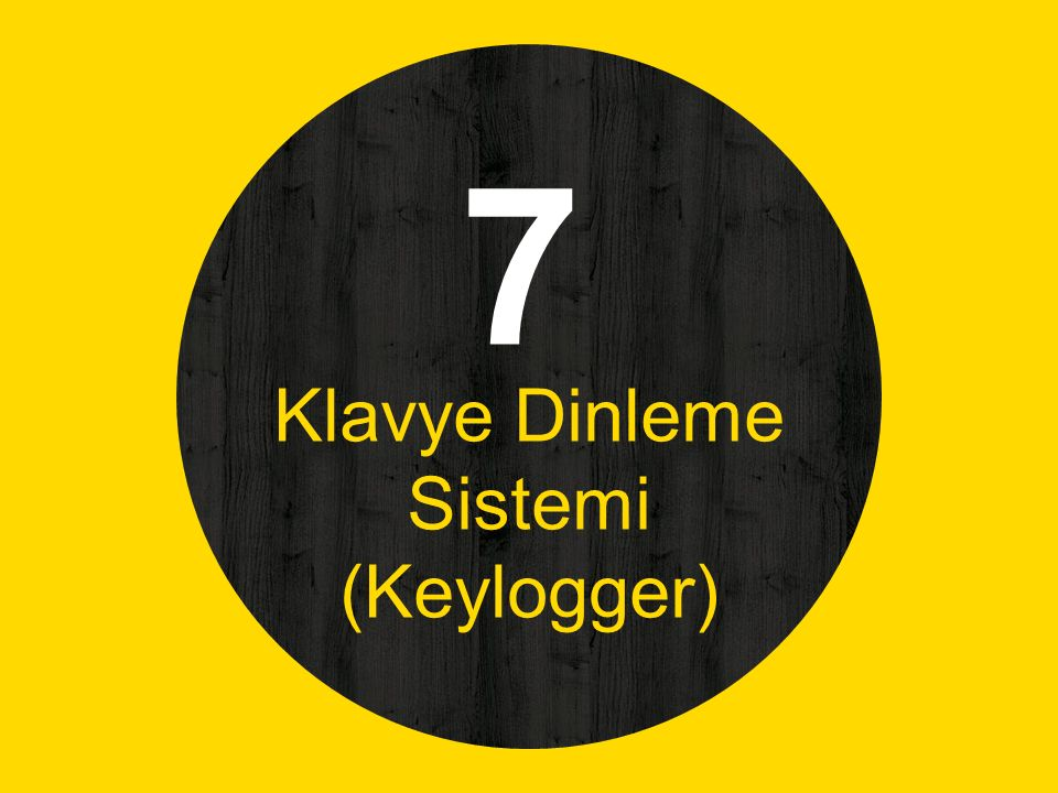 Klavye Dinleme Sistemi (Keylogger)
