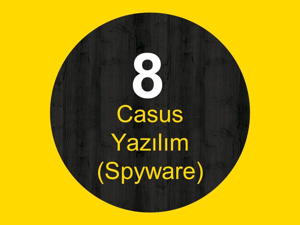 Casus Yazılım (Spyware)
