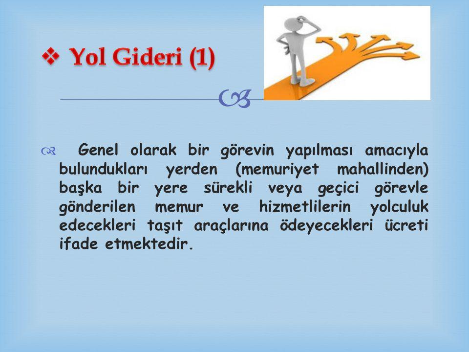 Yol Gideri (1)