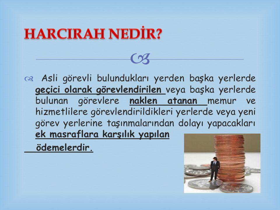 HARCIRAH NEDİR