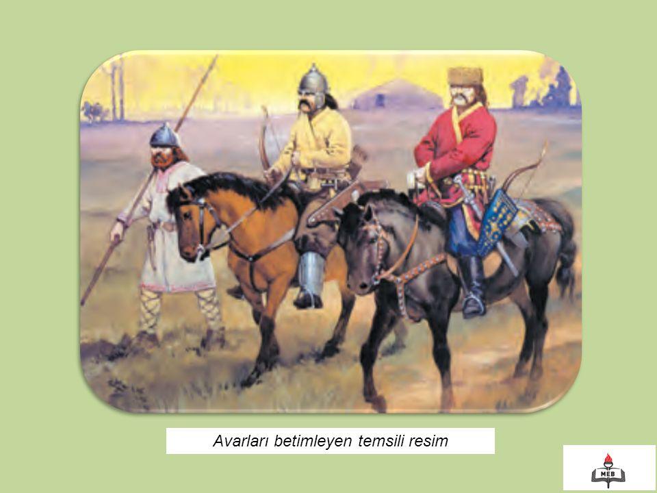 Avarları betimleyen temsili resim