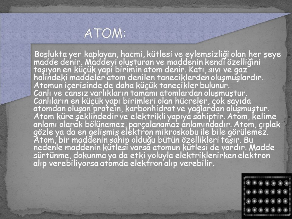 ATOM: