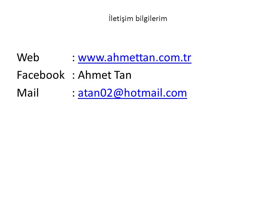 Mail : atan02@hotmail.com