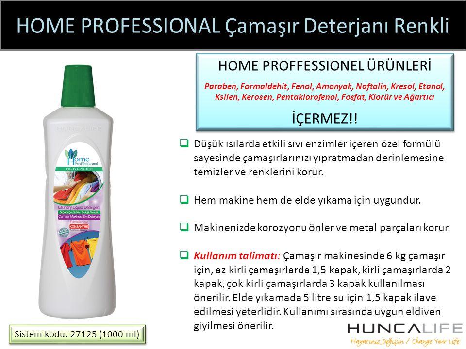HOME PROFESSIONAL Çamaşır Deterjanı Renkli